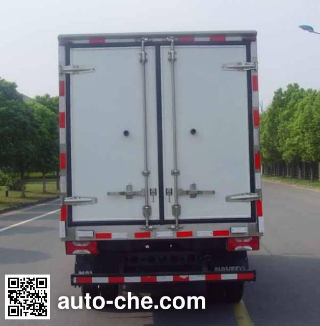 Yuejin NJ5041XLCZFDCMZ refrigerated truck