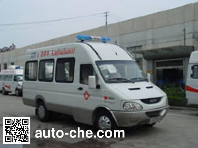 畅达牌NJ5048XJH3医疗救护车
