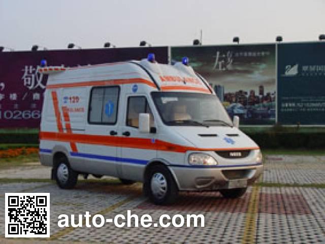 畅达牌NJ5048XJH39医疗救护车