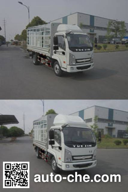 Yuejin NJ2042CCYKFDCMZ off-road stake truck