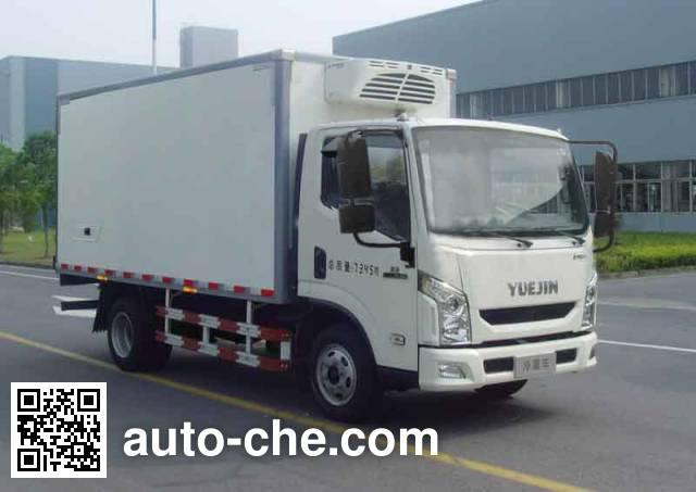 Yuejin NJ5071XLCZFDCMZ refrigerated truck