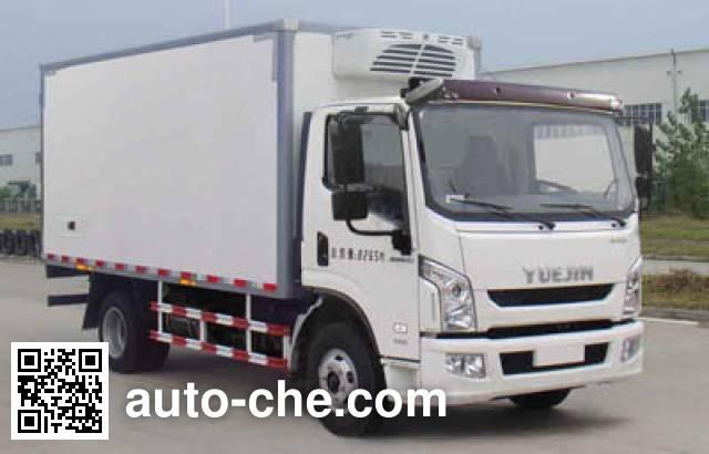 Yuejin NJ5081XLCZFDCWZ refrigerated truck