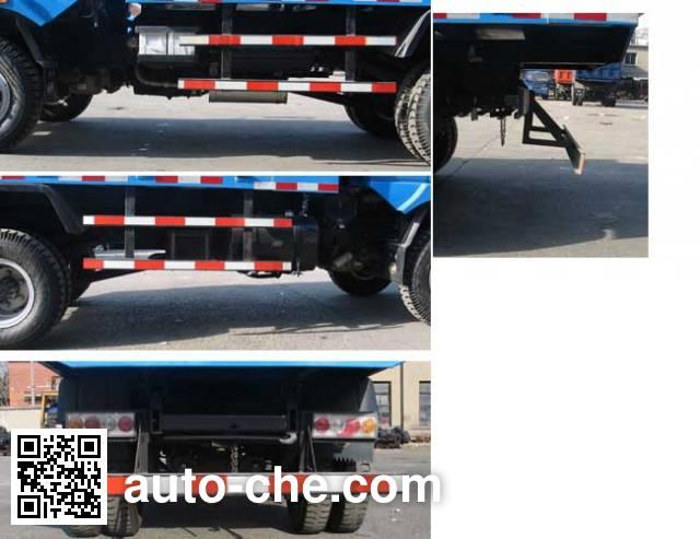 Yuejin NJ5815PD21 low-speed dump truck