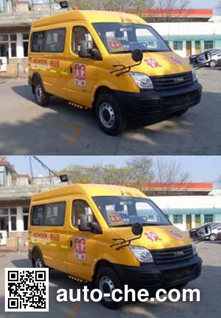 畅达牌NJ6518YXL幼儿专用校车