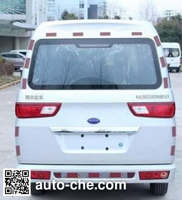 开沃牌NJL5021XDWBEV3纯电动服务车