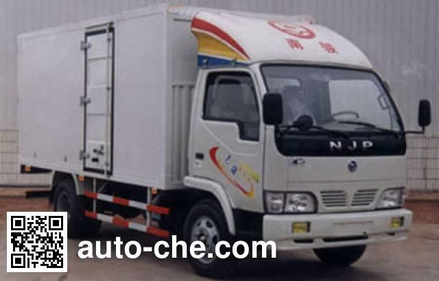 CNJ Nanjun NJP5020XXYE van truck