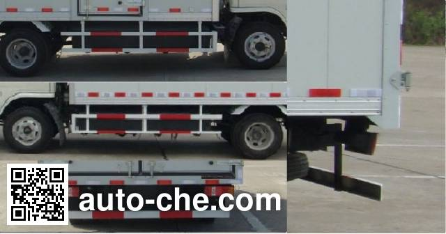 King Long NJT5044XXYBEV electric cargo van