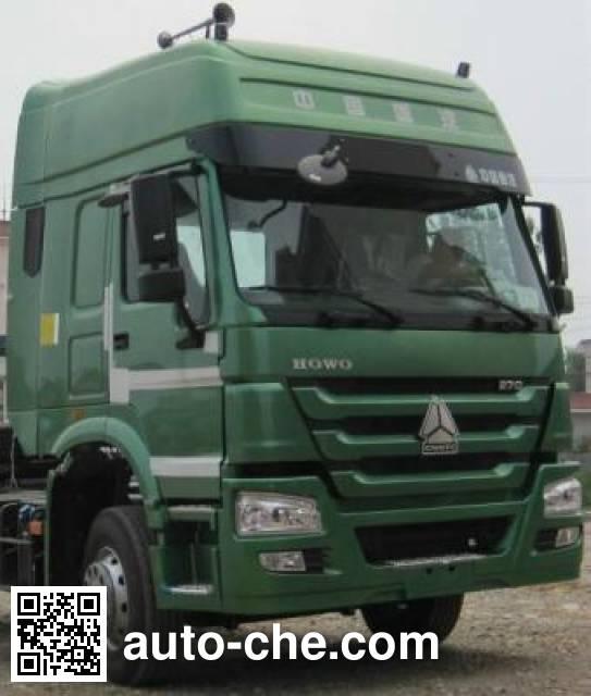 天印牌NJZ5252GFL4低密度粉粒物料运输车