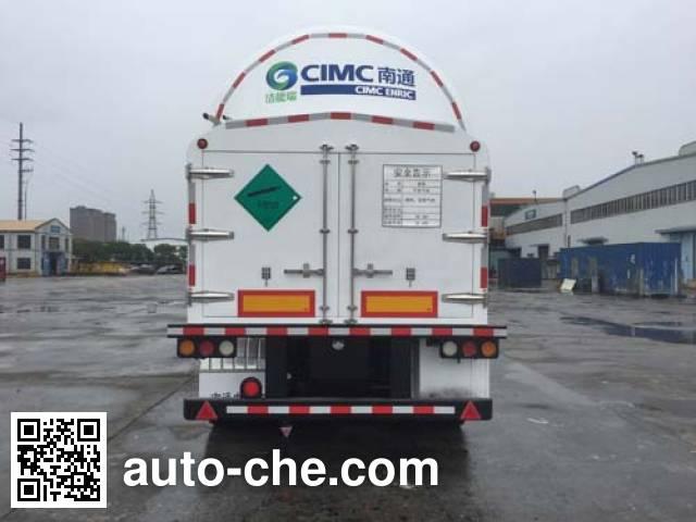 CIMC NTV9401GDYC cryogenic liquid tank semi-trailer