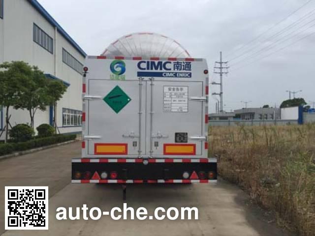 CIMC NTV9401GYQK liquefied gas tank trailer