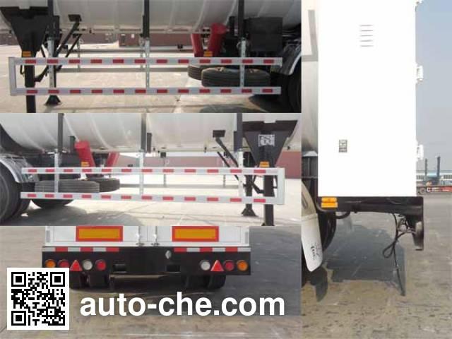 CIMC NTV9408GDY cryogenic liquid tank semi-trailer
