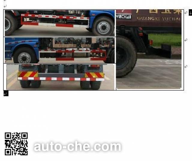 Yuchai Xiangli NZ5169ZXY detachable body garbage truck