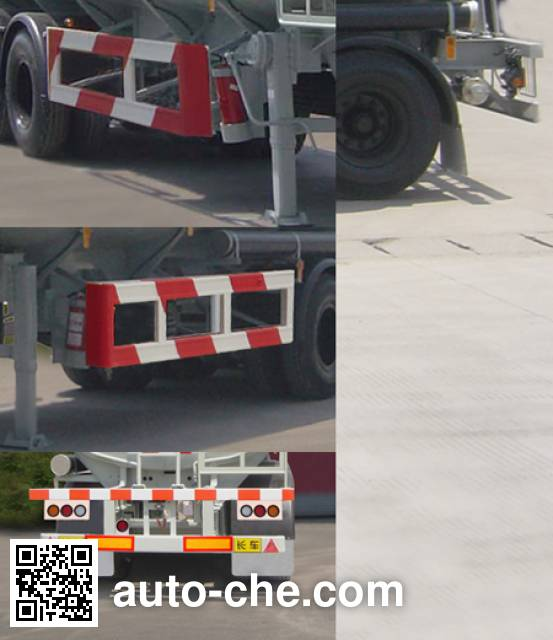 Haifulong PC9403GRYB flammable liquid tank trailer