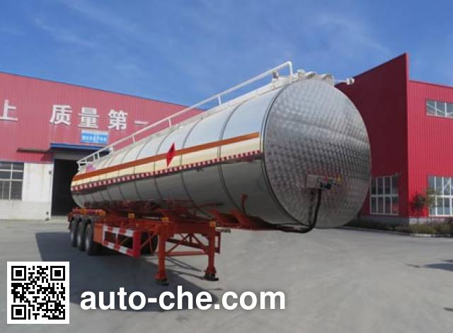 Haifulong PC9404GRYD flammable liquid tank trailer