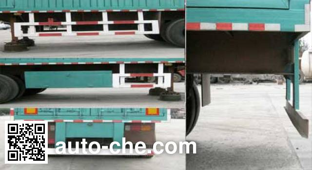 Jilu Hengchi PG9401XXY box body van trailer