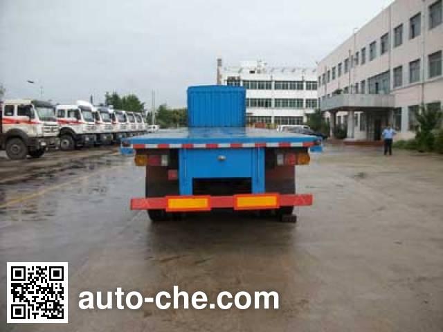 Jilu Hengchi PG9403ZZXP flatbed dump trailer