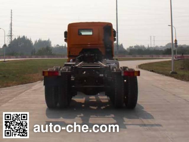 集瑞联合牌QCC3312D656-E2自卸汽车底盘