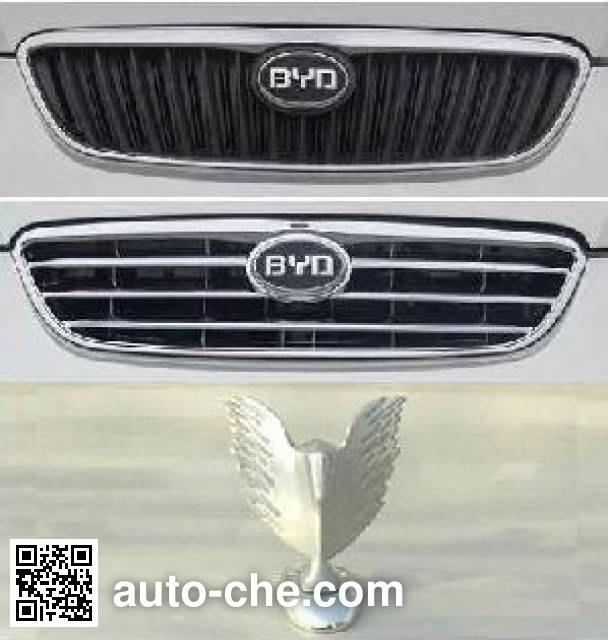 BYD двухтопливный легковой автомобиль QCJ7160A4/CNG