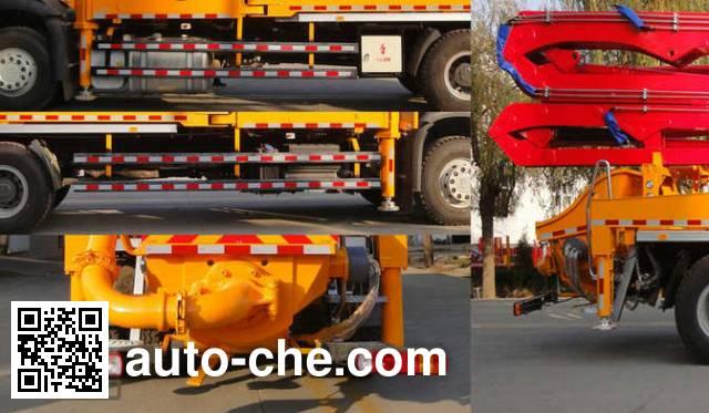Jinma QJM5200THB concrete pump truck