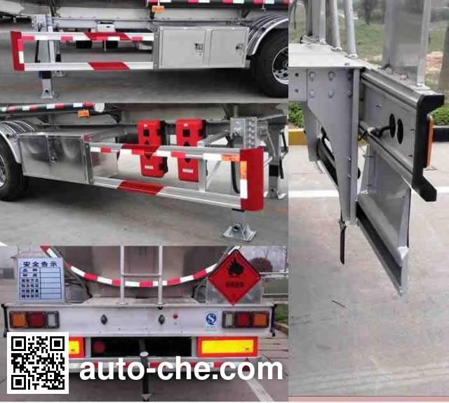 Wanshida SDW9401GYYC aluminium oil tank trailer