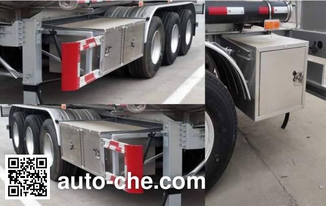 Wanshida SDW9402GYYC aluminium oil tank trailer