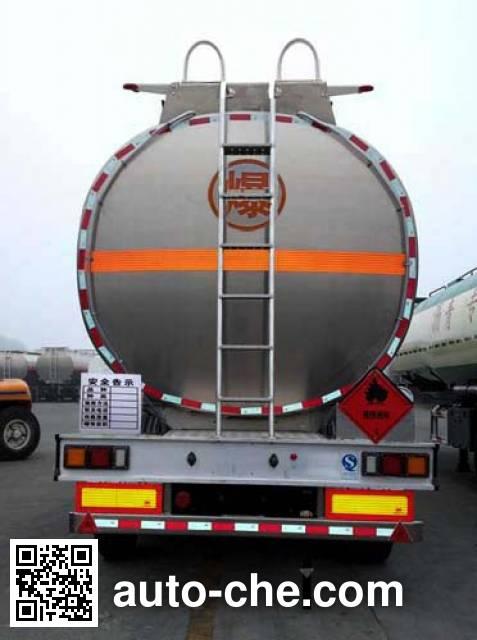 Wanshida SDW9406GYYC aluminium oil tank trailer