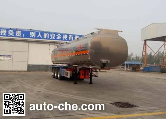 Wanshida SDW9408GYYC aluminium oil tank trailer