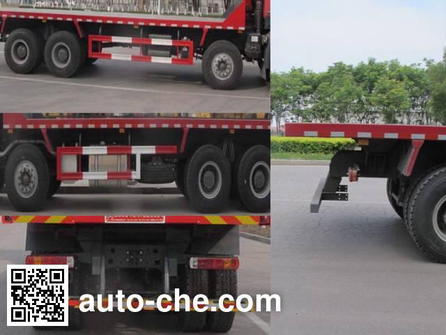 Shengyue SDZ3317ZPB38E flatbed dump truck