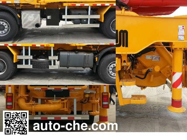 Shenxing (Shanghai) SG5430THB concrete pump truck