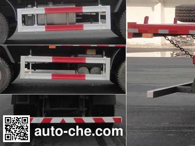 华威驰乐牌SGZ3310PZZ5T5平板自卸车