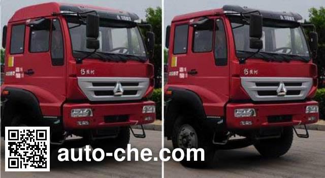 华威驰乐牌SGZ3314ZZ3自卸汽车