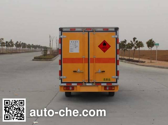 华威驰乐牌SGZ5028XRQ4易燃气体厢式运输车