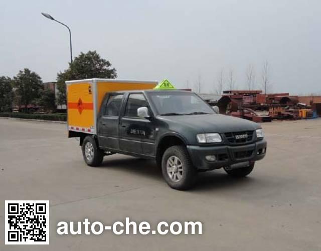 华威驰乐牌SGZ5038XQYQL4爆破器材运输车