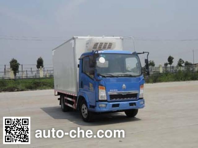 华威驰乐牌SGZ5047XLCZZ4冷藏车
