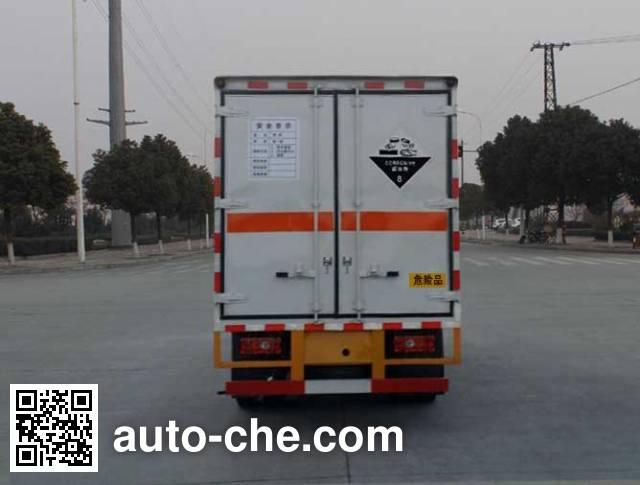 华威驰乐牌SGZ5048XFWJX4腐蚀性物品厢式运输车