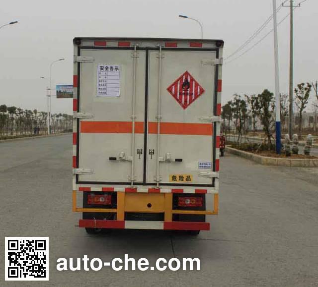 华威驰乐牌SGZ5048XRGJX4易燃固体厢式运输车