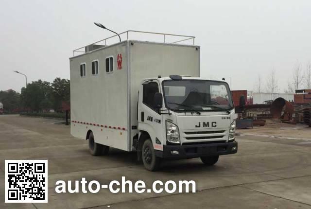 华威驰乐牌SGZ5058XCCJX4餐车