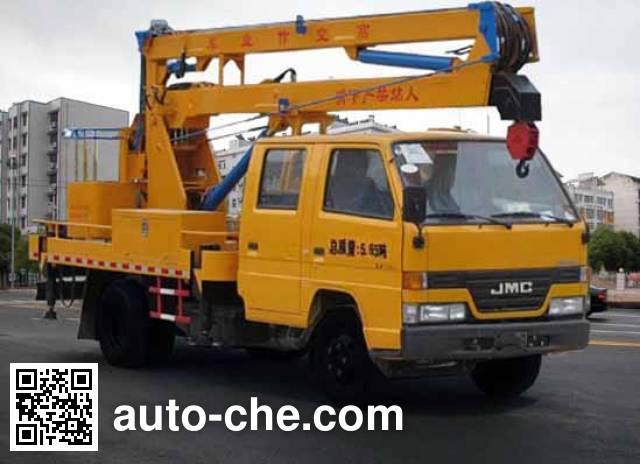华威驰乐牌SGZ5060JGKJX4高空作业车