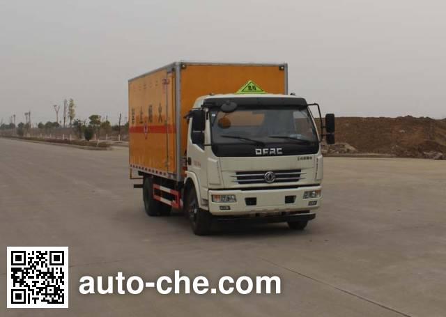华威驰乐牌SGZ5118XRGDFA4易燃固体厢式运输车