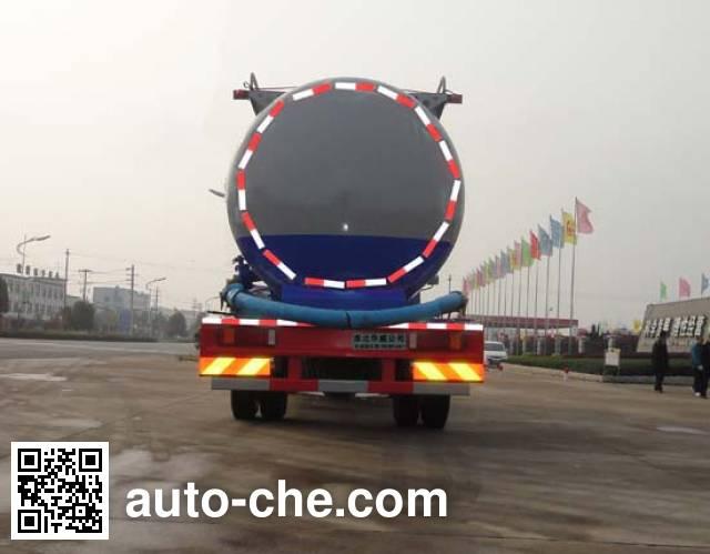 华威驰乐牌SGZ5164GFLZZ4低密度粉粒物料运输车