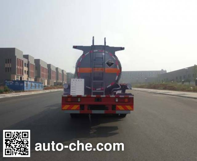Sinotruk Huawin SGZ5160GFWZZ5T5 corrosive substance transport tank truck