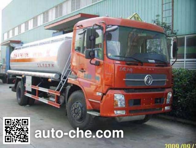 华威驰乐牌SGZ5160GHYDFL3BX化工液体运输车