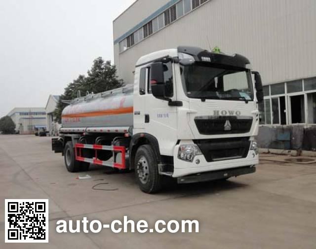 华威驰乐牌SGZ5160GJYZZ5T5加油车