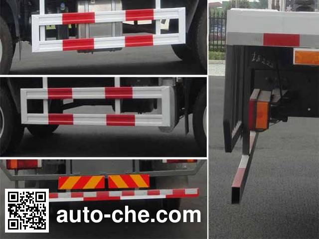 华威驰乐牌SGZ5160TPBZZ5M5平板运输车
