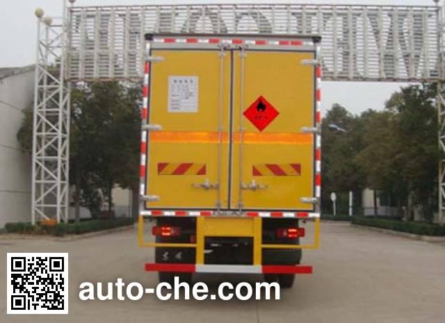 华威驰乐牌SGZ5168XRQD4BX5易燃气体厢式运输车