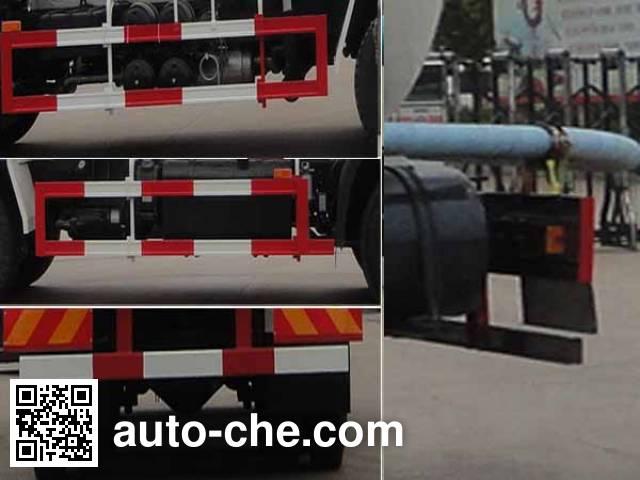华威驰乐牌SGZ5250GFLD5A13低密度粉粒物料运输车