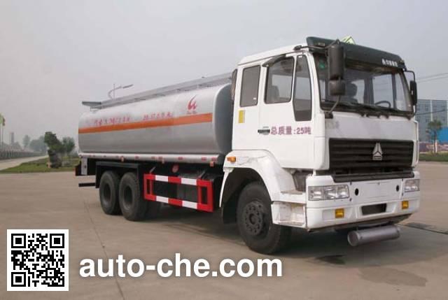 华威驰乐牌SGZ5250GHYZZ3J52化工液体运输车