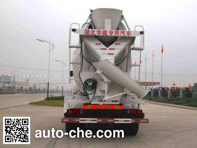 华威驰乐牌SGZ5250GJBDFLA4混凝土搅拌运输车
