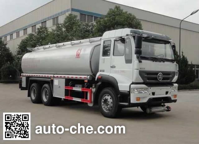 华威驰乐牌SGZ5250TGYZZ5M5供液车
