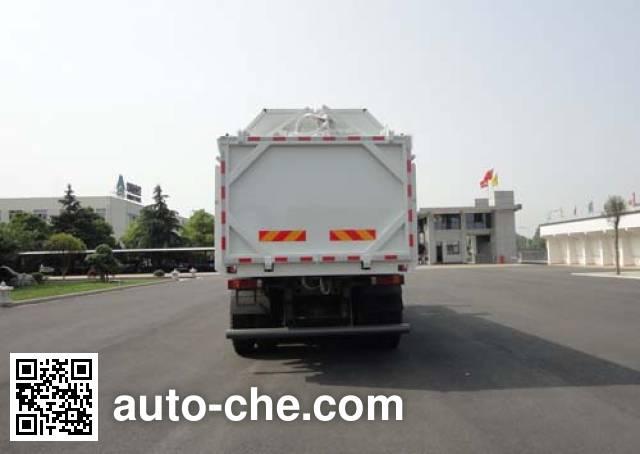 华威驰乐牌SGZ5250ZDJZZ4J7压缩式对接垃圾车